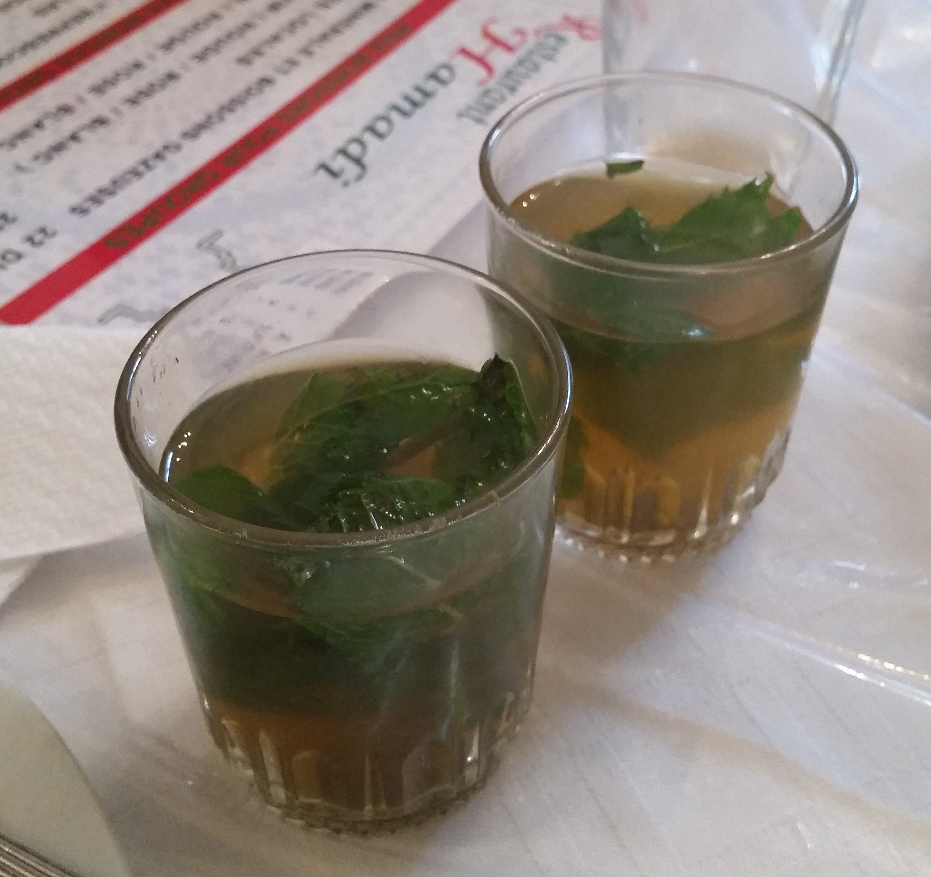 authentic Moroccan mint tea from my bucket list