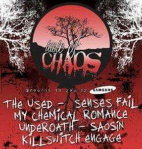 taste of chaos my chemical romance the used 2005
