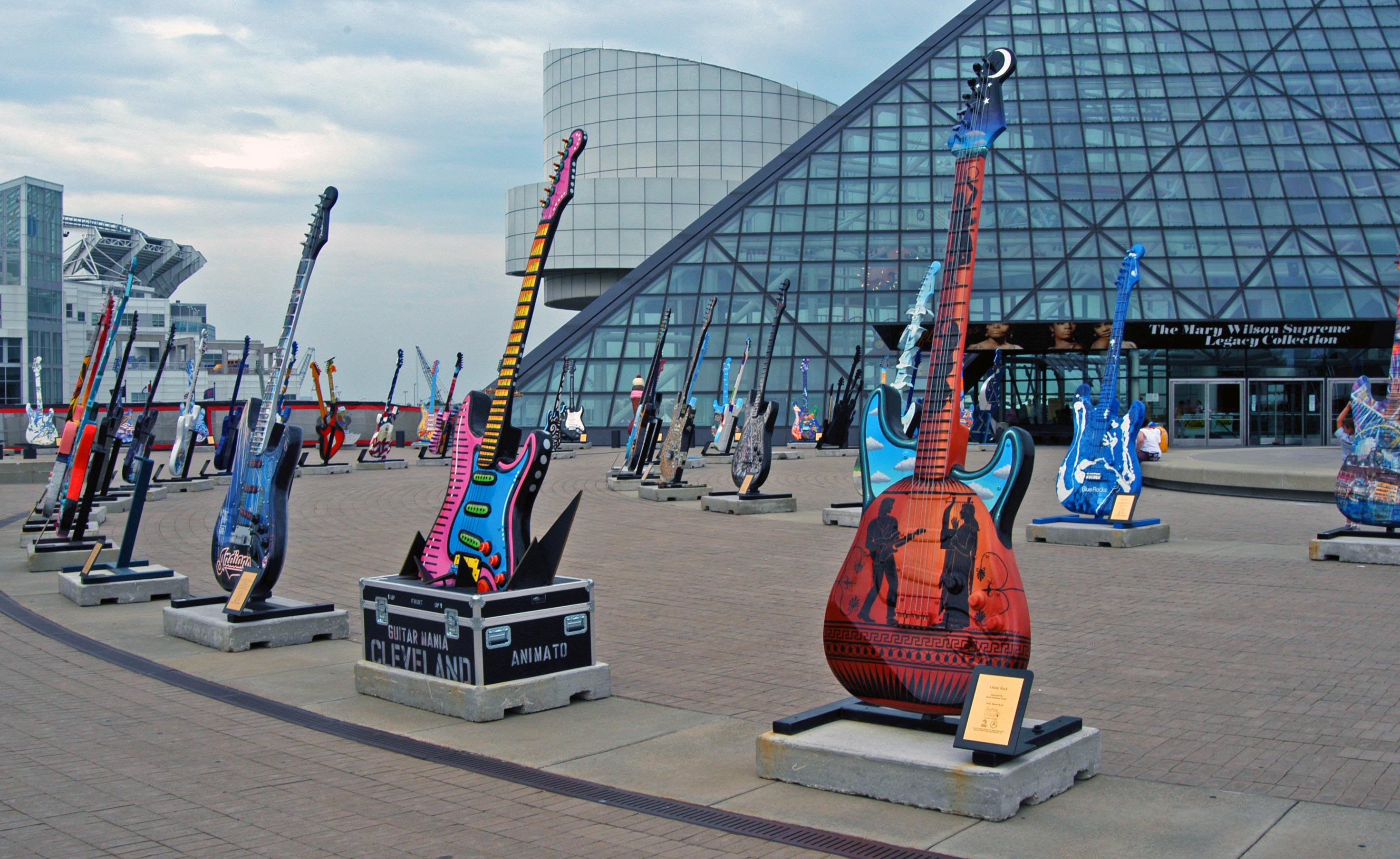rock and roll hall of fame, cleaveland ohio, music bucket list
