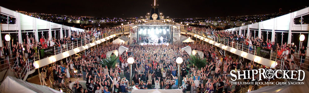 shiprocked festival on a cruise rock music bucket list