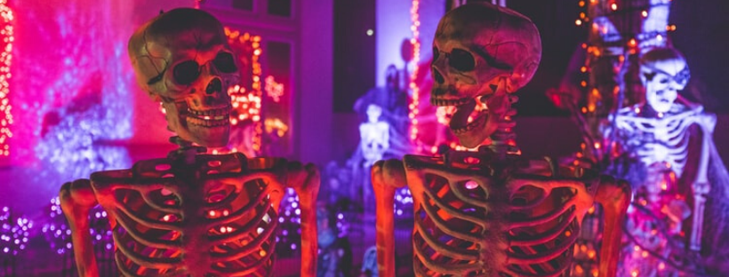 halloween playlist - skeletons at a halloween party