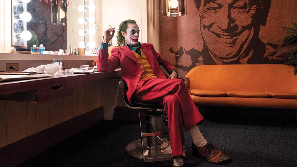 arther backstage at franklin murray show joker