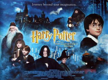 Harry Potter and the philosopher's stone movie cover - music to listen to become a more productive writer - hedwig's theme