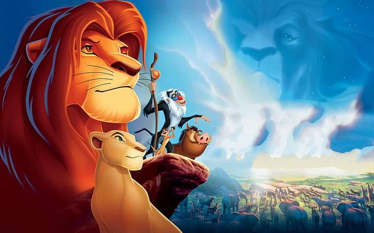 the lion king poster - music to listen to become a more productive writer